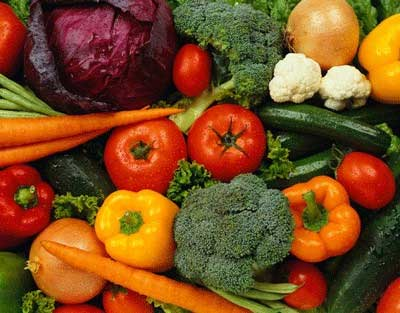 The best antioxidants are found in deep, rich-colored fruit and vegetables. Try and get your five portions a day.