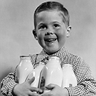 or all children from birth to age five, milk is one of the most important ingredients in a well balanced diet, it may prevent osteoporosis in the future