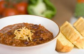 cajun chile should be served with corn bread, which makes a tasty, well-balanced meal