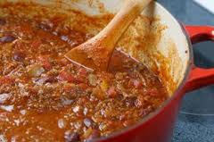cooking slowly brings out all the flavors of the chile