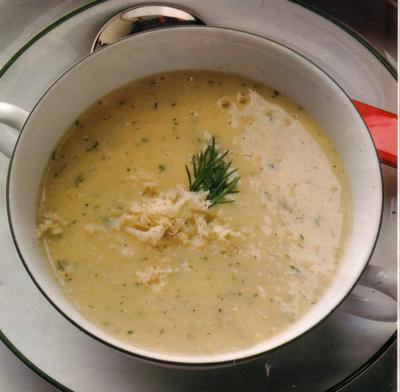 Lovely, creamy, hearty soup