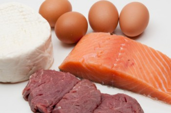 High protein diet includes fish, meat and cheese - as the saying goes