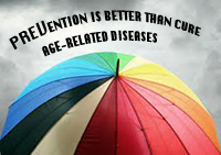 Preventing disease is better than cure - take care of your health as you age