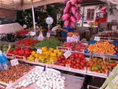 Local markets are a source of fresh vegetables and fruit which should form the basis of your healthy eating program