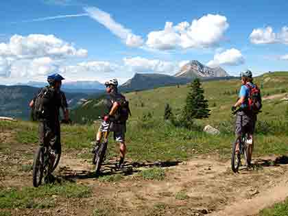 mountain-biking and other outdoor activities are a great way to stay fit and age well