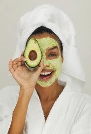 Eat it, plaster it over your face, lovely, lovely avocado