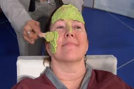 Crush an avocado, slap it on your face  and leave for 15 minutes
