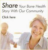 The forum for sharing advice and information about osteoporosis