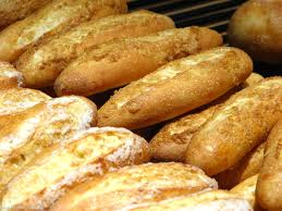 The usual white baguette is ok if eaten occasionally