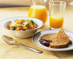 A wholesome breakfast prepares us emotionally and physically to face the day ahead