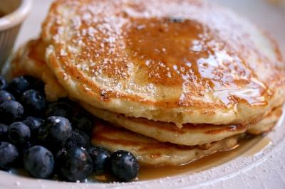 Serve with blueberries to get your antioxident fix